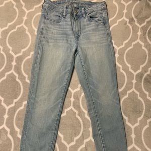 High waisted Jegging Jeans